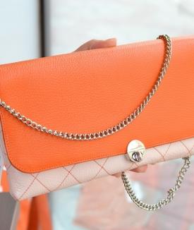 Plic Eleny - orange, nude