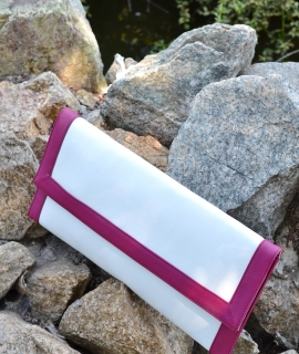 Plic Rectangular - white, amethyst