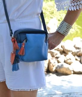 Banduliera Taz - blue, orange