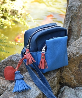 Banduliera Taz - blue, orange