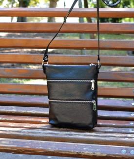 Poseta Zipper - black
