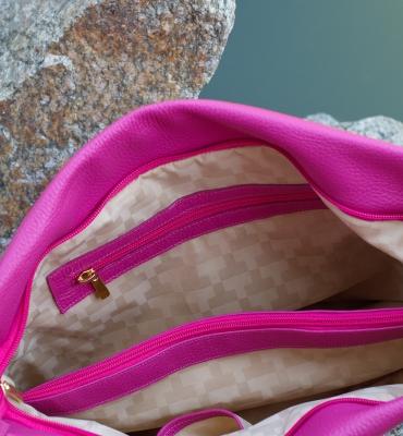 Poseta Corinuta - pink detaliu