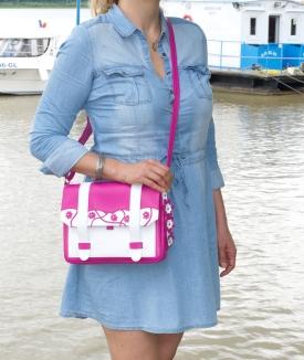 Poseta Cybil - pink, white