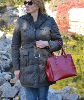 Geanta Marie mare - red