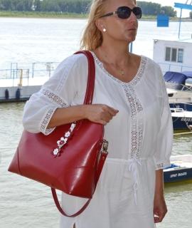 Geanta Valeria XL - red