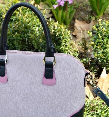 Poseta Valeria - lavender, blue, pink detalii
