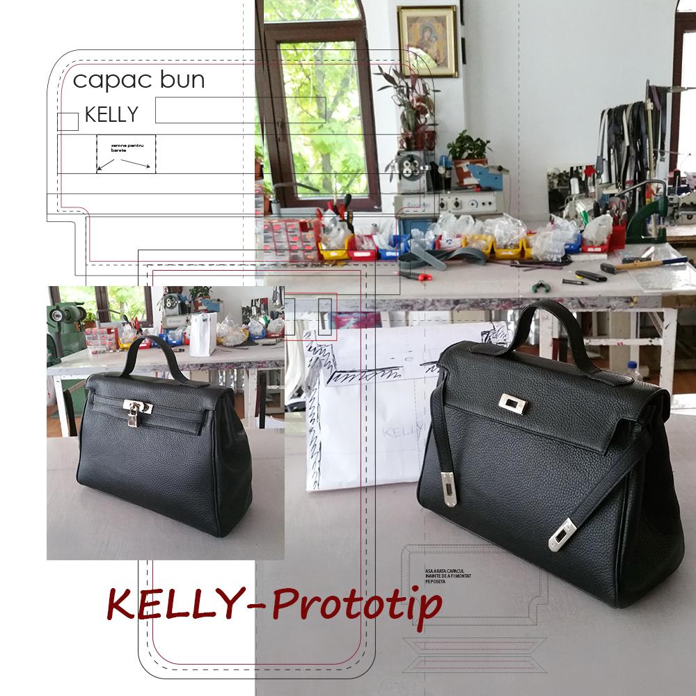 Crearea prototipului posetei Kelly!