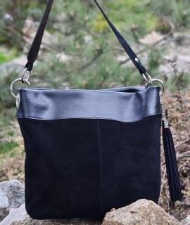 Poseta Corinuta - black velvet