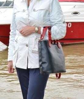 Geanta Jennifer - blue, red