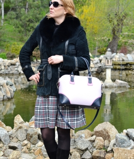 Geanta Valeria - blue, pink